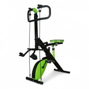 Total Body Crunch Xtreme Con Bicicleta Magnetica – Obsequio Ligas