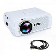 Proyector LED Crenova XPE460 LED Video Projector Home Projector with Free HDMI Support 1080P