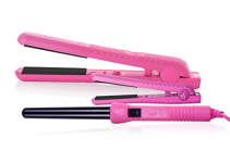 Herstyler Complete Flat Iron and Curling Iron Set