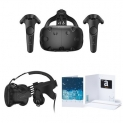 HTC VIVE Virtual Reality System + Deluxe Audio Strap + $100 Amazon Gift Card