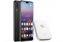 Kit HUAWEI Celular P20 + Impresora HP Sprocket + Manos Libres Bluetooth