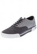 Tenis Lisfestyle Gris Negro Tommy Hilfiger