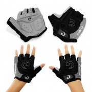 Outdoor Cycling Half Finger Glove Anti Slip Gel Pad