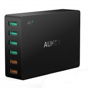 Quick Charge 3.0 AUKEY 6-Port USB Charger