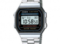 Reloj Casio Retro A-168WA Color Plateado