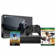 Xbox One X 1TB Consola + PUBG (Digital) + Juego Extra – Overwatch o Ghost Recon