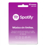 Pin Virtual SPOTIFY 12 Meses
