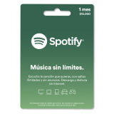 Pin Virtual SPOTIFY 1 Mes