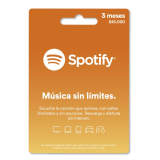 Pin Virtual SPOTIFY 3 Meses