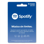 Pin Virtual SPOTIFY 6 Meses