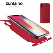 Suntaiho Skin Film Back Leather for iPhone 7/8/plus/X