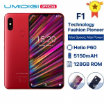 UMIDIGI F1 Android 9.0 6.3″ 128GB ROM 4GB RAM 5150mAh Battery 18W Fast Charge
