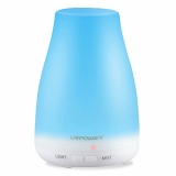 Humidificador URPOWER Essential Oil Diffuser, 100ml Aroma Essential Oil Cool Mist Humidifier