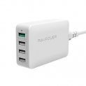 USB Quick Charger RAVPower 40W 4-Port Fast Charger