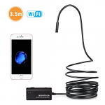 Wireless Endoscope – Depstech WiFi Borescope Inspection Camera 2.0 Megapixels HD Snake Camera